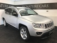 2012 JEEP COMPASS 2.1 CRD LIMITED 2WD 5d 134 BHP £7300.00