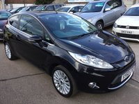 USED 2010 60 FORD FIESTA 1.4 TITANIUM 3d 96 BHP EXTREMELY LOW MILES