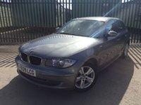 2009 BMW 1 SERIES 2.0 118D SE 5d 141 BHP AIR CON ALLOYS FSH MOT 01/19 £2990.00