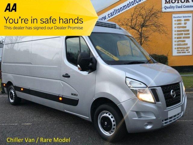 2013 63 NISSAN NV400 2.3 DCI SE L3 H2 125 LWB [ REFRIGERATED- CHILLER+STANBY ] Van