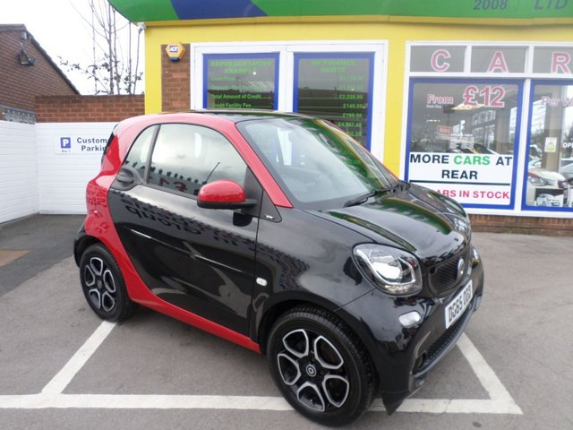 USED 2016 65 SMART FORTWO 1.0 PRIME 2d 71 BHP **NO DEPOSIT DEALS AVAILABLE**