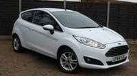 USED 2014 64 FORD FIESTA 1.25 ZETEC 3dr Cruise, £30 Per Year Tax