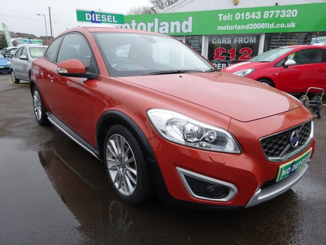 USED 2010 10 VOLVO C30 1.6 D DRIVE SE LUX 3d 109 BHP **LOW MILEAGE ....SERVICE HISTORY...TEST DRIVE TODAY...**