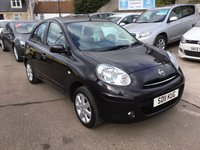 USED 2011 11 NISSAN MICRA 1.2 ACENTA 5d 79 BHP LOW MILEAGE CAR WITH FULL SERVICE HISTORY
