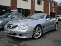 USED 2008 57 MERCEDES-BENZ SL 3.5 SL350 2d AUTO 272 BHP