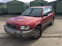 2004 SUBARU FORESTER 2.0 X ALL WEATHER 5d 125 BHP PAN ROOF ALLOYS MOT 08/18 £1490.00
