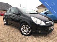 2008 VAUXHALL CORSA 1.4 DESIGN 16V 3d AUTO 90 BHP £3995.00