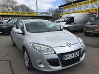 2009 RENAULT MEGANE 1.5 DYNAMIQUE DCI 3 DOOR 106 BHP IN SILVER WITH ONLY 53000 MILES £3990.00