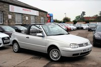 2000 VOLKSWAGEN GOLF 2.0 Avantgarde 2dr Convertible £2475.00