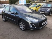 USED 2013 63 PEUGEOT 308 1.6 ACTIVE NAVIGATION VERSION 5d 120 BHP HIGH SPEC LOW MILEAGE EXAMPLE
