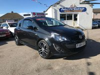 2014 VAUXHALL CORSA 1.4 BLACK EDITION 3d 118 BHP £SOLD