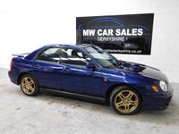 2002 SUBARU IMPREZA 2.0 WRX TURBO AWD 4d 218 BHP £3991.00
