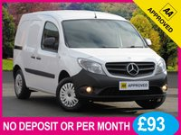 USED 2014 63 MERCEDES-BENZ CITAN 109 CDI LONG 1.5 CDI PANEL VAN BLUETOOTH PHONE CRUISE CONTROL TWIN SLIDING DOORS