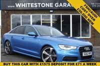 USED 2012 62 AUDI A6 3.0 TDI QUATTRO S LINE 4d AUTO 245 BHP REPLACEMENT COST NEW OVER £50000 FSH@AUDI 4X4 DIESEL AUTO SAT NAV