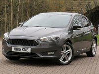 USED 2015 15 FORD FOCUS 1.0 ZETEC 5d 100 BHP