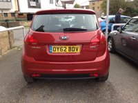 USED 2012 62 KIA VENGA 1.4 CRDI 2 5d 89 BHP SERVICE HISTORY + ONE OWNER SINCE 2013