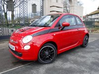 USED 2012 12 FIAT 500 0.9 TWINAIR 3d 85 BHP *** FINANCE & PART EXCHANGE WELCOME *** £ 0 FREE ROAD TAX STOP/START  HALF LEATHER INTERIOR AIR/CON