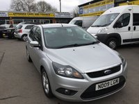 2009 FORD FOCUS 1.6 ZETEC TDCI 5d 108 BHP BLACK IN GREAT CONDITION TRADE CLEARANCE £2300.00