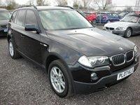 2007 BMW X3 2.0 D SE 5d 148 BHP £4000.00