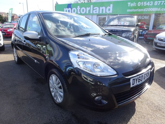 USED 2010 60 RENAULT CLIO 1.1 I-MUSIC 16V 5d 74 BHP **JUST ARRIVED....TEST DRIVE TODAY**