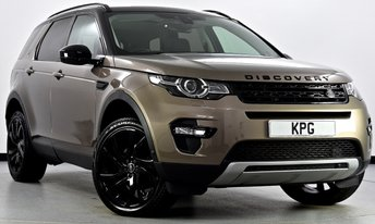 2015 LAND ROVER DISCOVERY SPORT 2.2 SD4 HSE Luxury 4X4 5dr Auto £28750.00
