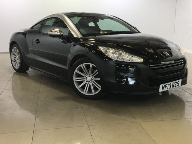 View our 2013 13 PEUGEOT RCZ 2.0 HDI SPORT 2d 163 BHP