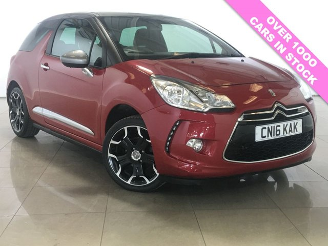 View our 2016 16 DS DS 3 1.2 PURETECH DSTYLE 3d 80 BHP