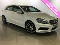 USED 2014 64 MERCEDES-BENZ A CLASS 1.5 A180 CDI BLUEEFFICIENCY AMG SPORT 5d 109 BHP Great Car/Sat Nav/Bluetooth