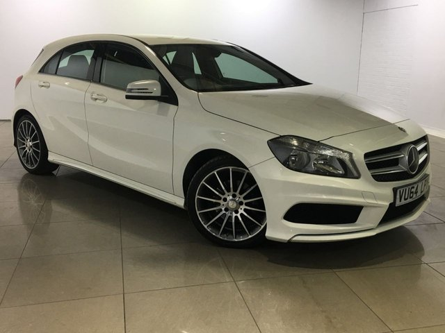 View our 2014 64 MERCEDES-BENZ A CLASS 1.5 A180 CDI BLUEEFFICIENCY AMG SPORT 5d 109 BHP