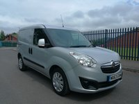 USED 2013 63 VAUXHALL COMBO 1.2 2300 L1H1 CDTI S/S SPORTIVE 1d 90 BHP AIR CONDITIONING - TWIN SIDE DOORS