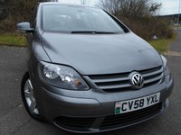 2008 VOLKSWAGEN GOLF PLUS 1.4 SE TSI DSG 5d AUTO 121 BHP ** 1 OWNER , AUTOMATIC ** £3495.00