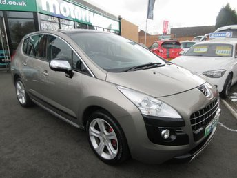 2011 PEUGEOT 3008 1.6 EXCLUSIVE HDI 5d AUTO 112 BHP £6000.00
