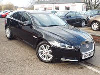 2014 JAGUAR XF 2.2 D LUXURY 4d AUTO 163 BHP £14850.00
