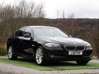 2011 BMW 5 SERIES 2.0 520D SE 4d 181 BHP £7200.00