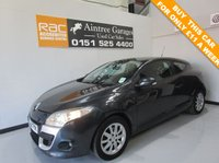 USED 2010 10 RENAULT MEGANE 1.6 EXPRESSION VVT 2d 110 BHP LOW TAX AN INSURANCE