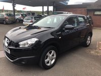 USED 2011 11 NISSAN QASHQAI 1.6 VISIA 5d 117 BHP 2 OWNERS ONLY 63K MILES