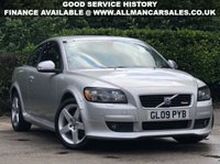 USED 2009 09 VOLVO C30 1.6 R-DESIGN 3d 100 BHP