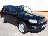 2012 JEEP COMPASS 2.4 LIMITED 5d AUTO 168 BHP £8495.00