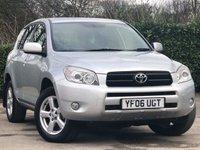 2006 TOYOTA RAV4 2.0 XT4 VVT-I 5d AUTO 151 BHP £6500.00