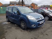 USED 2015 15 CITROEN BERLINGO MULTISPACE 1.6 HDI VTR 5d 91 BHP MULTISPACE WITH EXCELLENT FUEL ECONOMY , LOW CO2 EMISSIONS(135G/KM) AND LOW ROAD TAX. GOOD SPECIFICATION  WITH AIR CONDITIONING, REMOTE CENTRAL LOCKING AND ELECTRIC WINDOWS, AUXILLIARY INPUT AND USB!