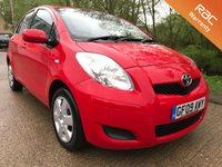 2009 TOYOTA YARIS 1.3 TR VVT-I MM 5d AUTO 99 BHP £3750.00