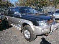 2004 MITSUBISHI L200 2.8 Double Cab Pick Up  £3995.00