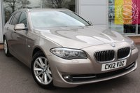 USED 2012 12 BMW 5 SERIES 2.0 520D SE TOURING 5d AUTO 181 BHP