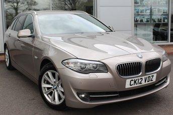 2012 BMW 5 SERIES 2.0 520D SE TOURING 5d AUTO 181 BHP £10500.00