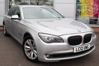 USED 2012 12 BMW 7 SERIES 3.0 730LD SE 4d AUTO 242 BHP