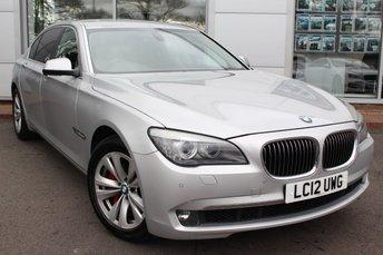 2012 BMW 7 SERIES 3.0 730LD SE 4d AUTO 242 BHP £13989.00