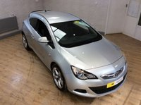 2012 VAUXHALL ASTRA GTC 1.6 GTC SRI 3d 177 BHP £7995.00