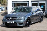 2012 MERCEDES-BENZ C CLASS C63 AMG 5d Estate AUTO 457 BHP £26990.00