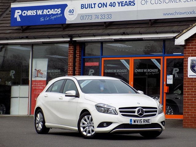 USED 2015 15 MERCEDES-BENZ A CLASS 1.5 CDi A180 ECO SE 5dr  *Part Leather & Low Miles*