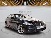 USED 2012 62 BMW 5 SERIES 2.0 520D M SPORT 4d AUTO 181 BHP + AIR CON + AUX + BLUETOOTH